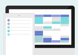 シフトスケジュール調整支援システムの開発 イメージ